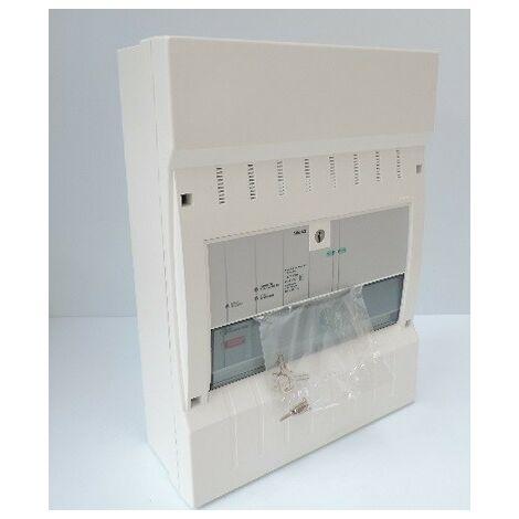 Tableau BAAS 2 boucles (Bloc Autonome Alarme Sonore Principal) Incendie Type 2B LEGRAND 040643