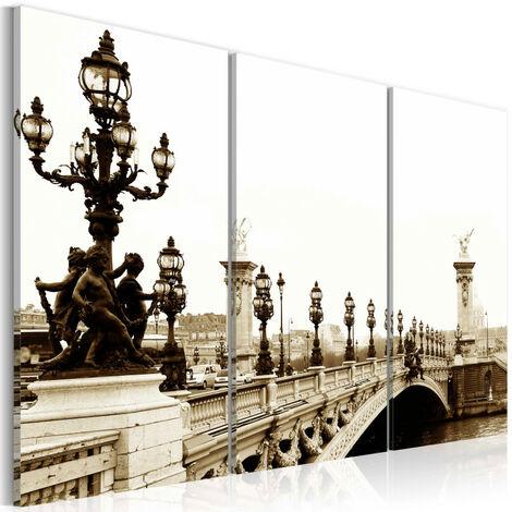 Tableau - Balade romantique à Paris 120x80