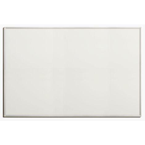 Tableau blanc économique - en tôle d'acier laquée, magnétique, pour inscriptions effaçables - l x h extérieures 1500 x - Coloris du tableau: blanc