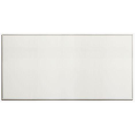 Tableau blanc économique - en tôle d'acier laquée, magnétique, pour inscriptions effaçables - l x h extérieures 2000 x - Coloris du tableau: blanc