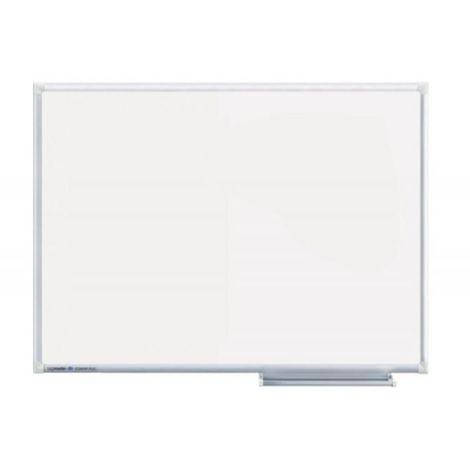 Tableau blanc ECONOMY acier laqué magnétique avec cadre en aluminium 90x120cm