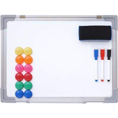 Tableau blanc HHG-831, magnétique, accessoires inclus