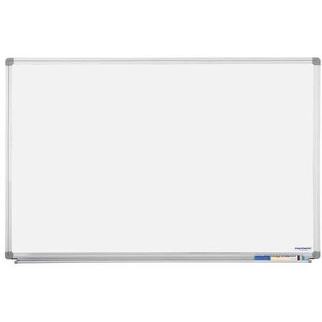 tableau blanc magnétique laqué cadre alu 900 x 600 mm - 3695025988