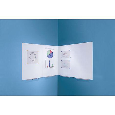 Tableau blanc modulaire - 750 x 1150 mm - extension à volonté