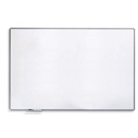 Tableau blanc SILVERLINE - cadre gris argent - l x h 600 x 400 mm