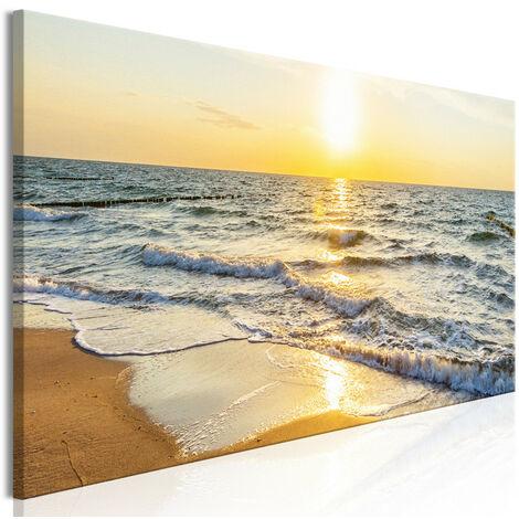 Tableau - Calm Waves (1 Part) Narrow Golden 135x45
