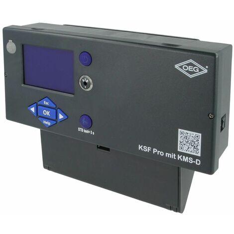 Tableau de commande avec régulation KMS D avec sondes et fiche brûleur