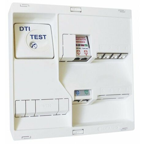 Tableau de communication Néo - Grade 1 - 4RJ45 - DTI - TV2S