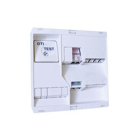 """main image of """"Tableau de communication NÉO Grd2TV 4 RJ45 DTI Filtre TV 2S"""""""