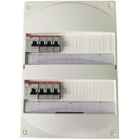 Tableau electrique ABB pour GTL avec 1 ID 63A + Autres ID 40A et disjoncteurs automatiques