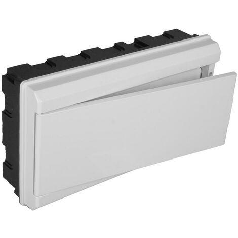 Tableau électrique encastrable ICP + 12 éléments avec porte blanche SOLERA 680CB