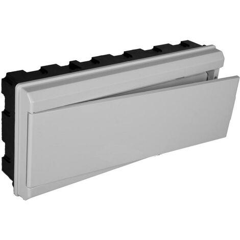 Tableau électrique encastrable ICP + 16 éléments avec porte grise SOLERA 880CG