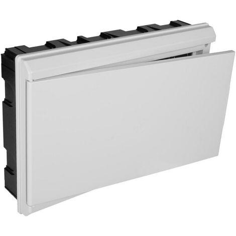 Tableau électrique encastrable ICP + 24 éléments avec porte blanche SOLERA 5203CB