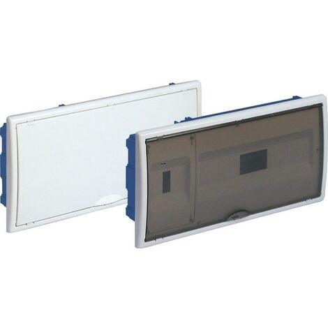 Tableau électrique encastrable Pladur 16 éléments + 4 châssis et porte plombables BLANCO SOLERA 88