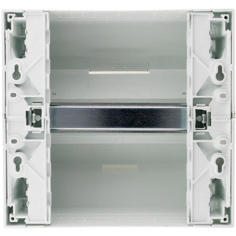 Thomson Tableau électrique évolutif blanc 3 bornier inclus