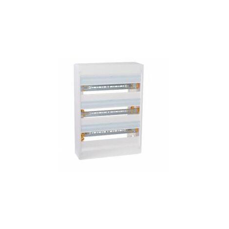 Tableau électrique nu 3 rangées de 18 modules - 401223 - LEGRAND