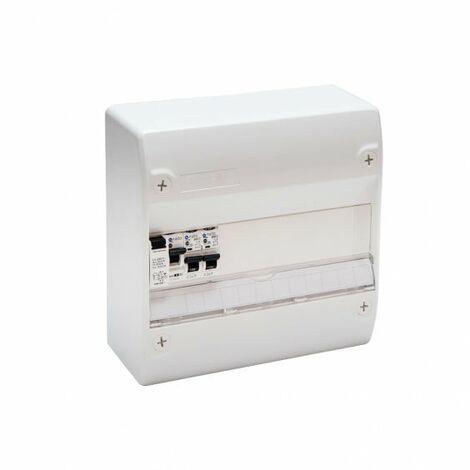 Tableau Électrique Pré Câblé 1 rangée NF NALTO 1 ID + 2 Disjoncteurs