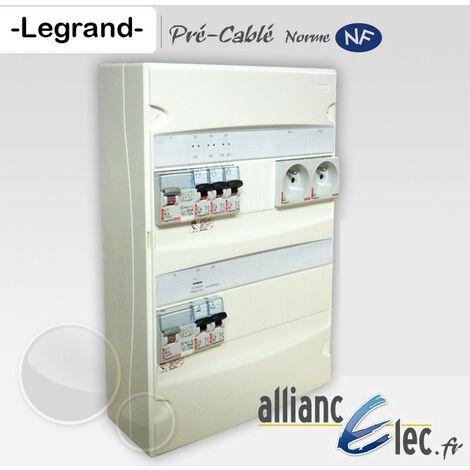Tableau électrique pré-cablé Legrand complet Studio - T1 - T1bis jusqu'a 35m2