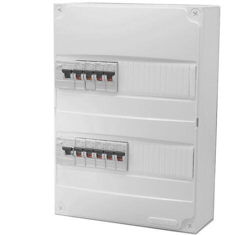 Tableau électrique precable AEG (9 disjoncteurs + 2 ID)