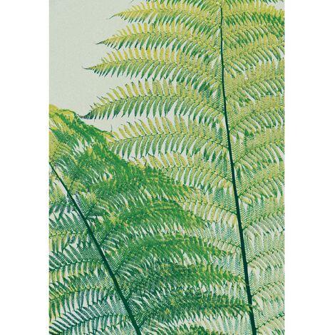 Tableau en verre acrylique Fraicheur 50 x 70 cm - Vert