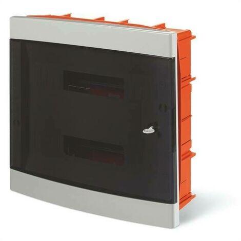 Tableau encastré avec porte domino 36 modules 675. 4036b