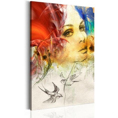 Tableau - Femme ardente 80x120