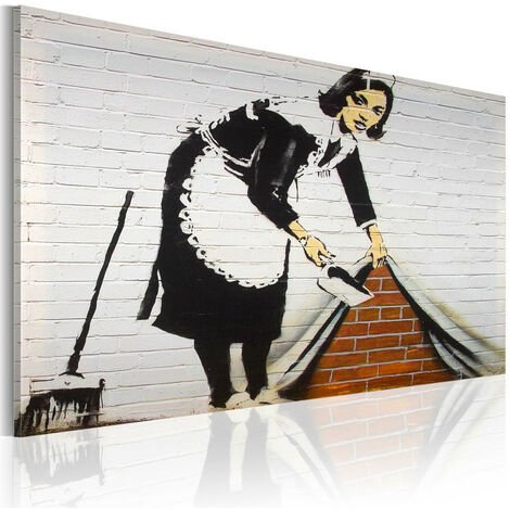 Tableau - Femme de ménage (Banksy)