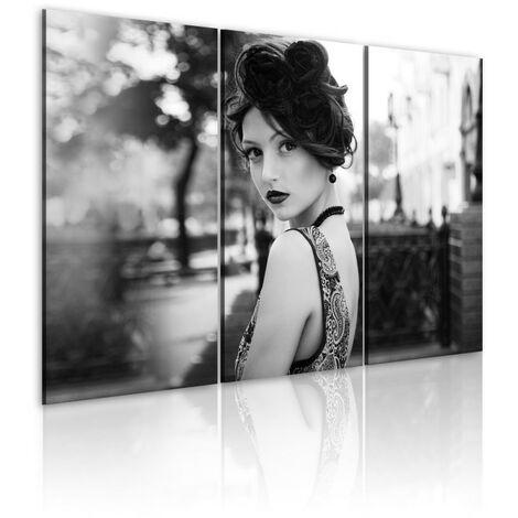 Tableau - Femme élegante dans un style rétro 60x40