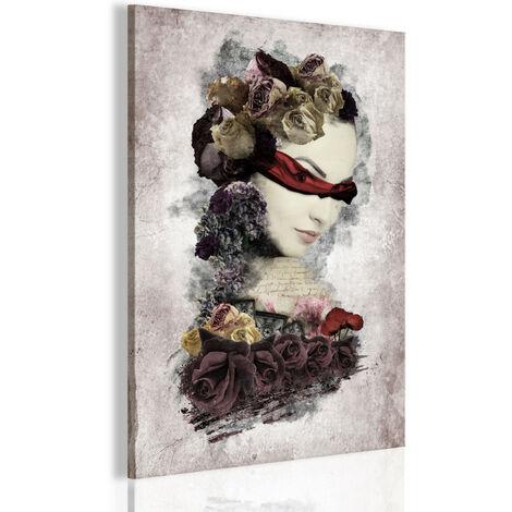Tableau - Femme mystérieuse 80x120
