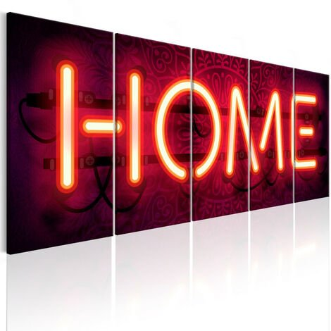 Tableau - Home Neon 200x80
