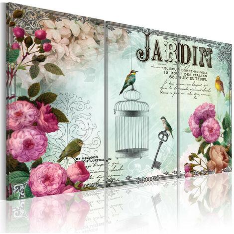 Tableau - Jardin 60x40