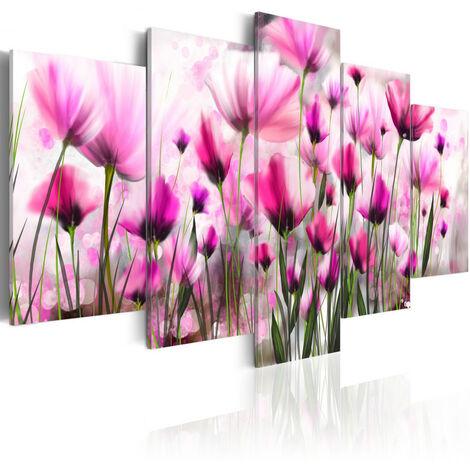 Tableau - Jardin mystérieux 100x50