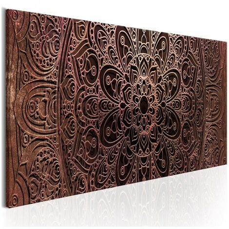 Tableau - Mandala: Amber Silence 150x50