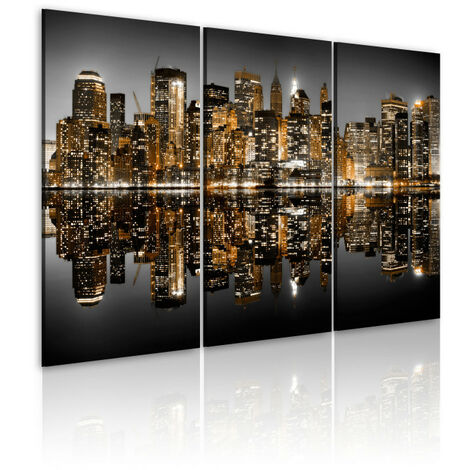 Tableau - Mer de lumières - New York 120x80
