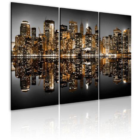 Tableau - Mer de lumières - New York 60x40