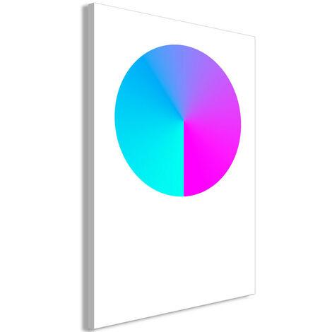 Tableau - Neon Gradient (1 Part) Vertical 80x120