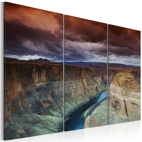 Tableau - Nuages au-dessus du Grand Canyon 60x40