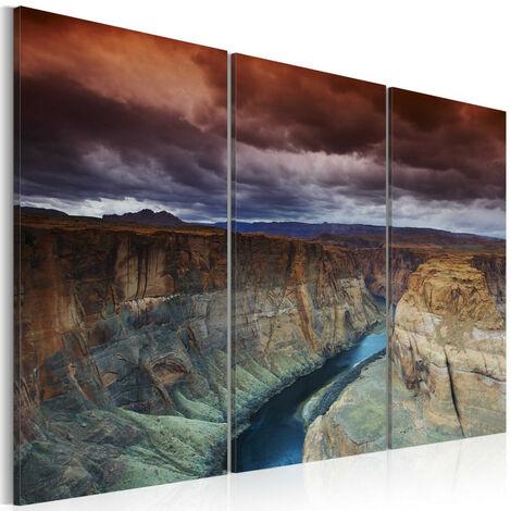Tableau - Nuages au-dessus du Grand Canyon 90x60