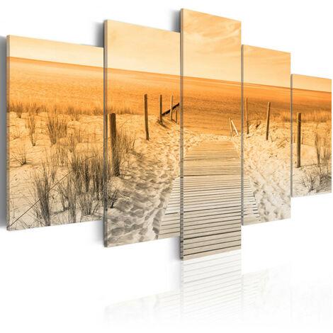 Tableau - Orange Beach 100x50