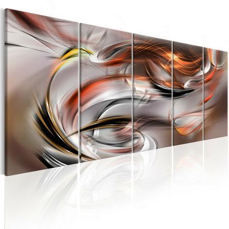 Tableau - Orange Chaos 200x80