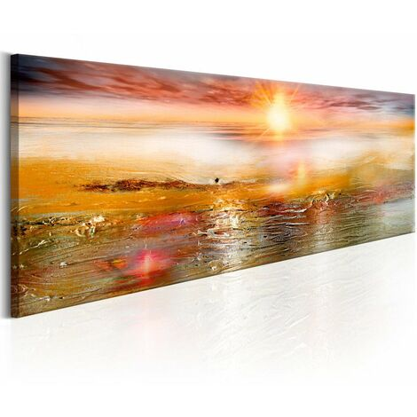 Tableau - Orange Sea 150x50