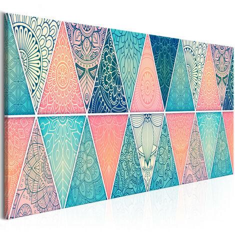 Tableau - Oriental Triangles (1 Part) Narrow 120x40