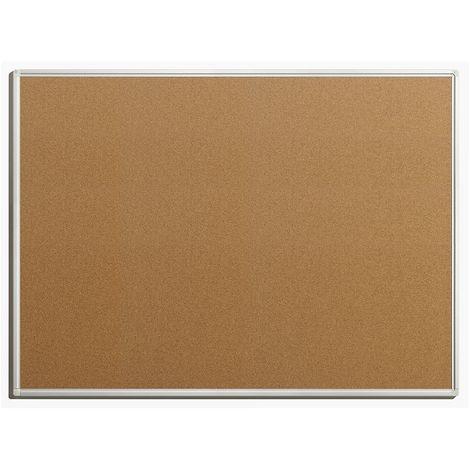Tableau pour épingles - en liège naturel - largeur 1200 mm, hauteur 900 mm - Coloris du tableau: nature