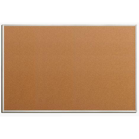 Tableau pour épingles - en liège naturel - largeur 1500 mm, hauteur 1000 mm - Coloris du tableau: nature