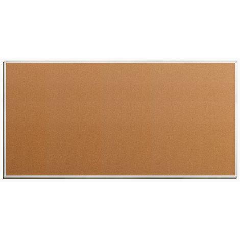 Tableau pour épingles - en liège naturel - largeur 2000 mm, hauteur 1000 mm - Coloris du tableau: nature