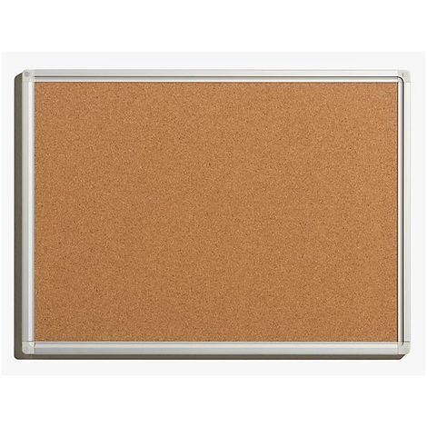 Tableau pour épingles - en liège naturel - largeur 600 mm, hauteur 450 mm - Coloris du tableau: nature