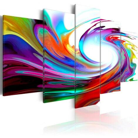 Tableau - Rainbow - swirl 200x100