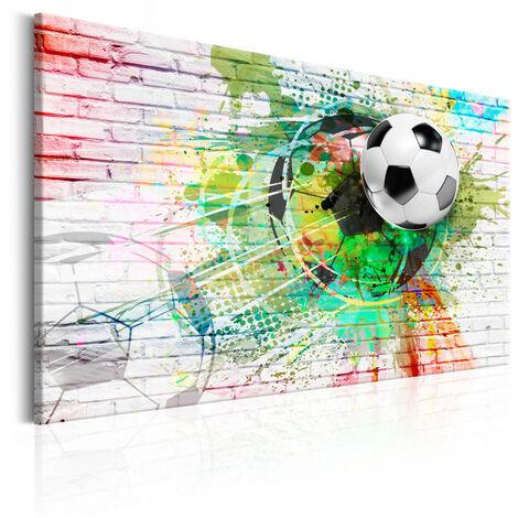Tableau - Sport en couleur (Football) 90x60