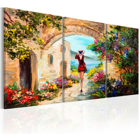 Tableau - Summer in Italy 120x60