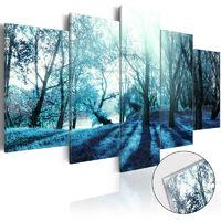 Tableau sur verre acrylique - Blue Glade [Glass]